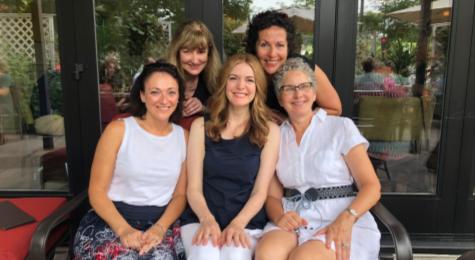 group shot of women friends